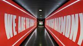 Arsenal unveil new look changing room and players' tunnel ahead of Palace clash