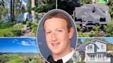 Inside Mark Zuckerberg's houses, sprawling $320M real estate portfolio