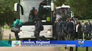 Miami Dolphins Arrive In London Ahead Of Jaguars Game On Sunday
