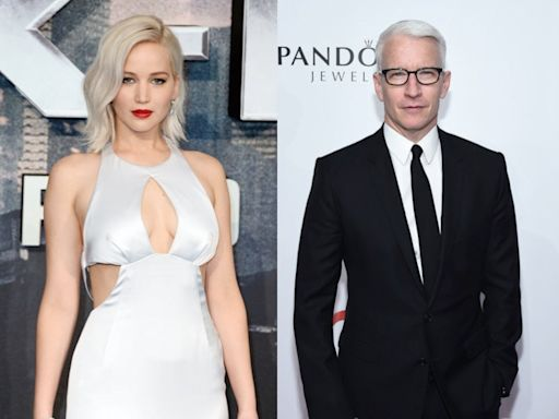 Jennifer Lawrence says she confronted Anderson Cooper after he claimed her Oscars fall was fake