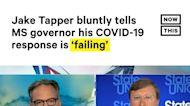 Jake Tapper Calls Out Mississippi Gov Over COVID-19 Response