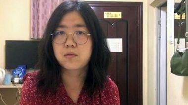 因揭武漢疫情入獄 公民記者張展獲國際表彰