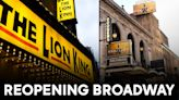 Broadway's back: 'Hamilton,' 'Lion King' among blockbuster musicals reopening today