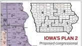 2nd set of Iowa redistricting maps would shift some local boundaries
