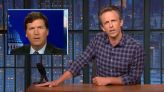 Seth Meyers Nails Tucker Carlson for COVID Mandate Contradiction