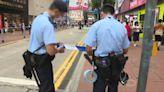 反修例兩周年 警方銅鑼灣、旺角截查多人 職工盟街站違限聚令被票控