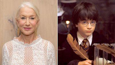 Helen Mirren enters wizarding world to host Harry Potter fan competition show