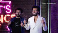 Mo Salah meets wax double at Madame Tussauds London