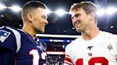 Look: Eli Manning Has 1-Word Response To Tom Brady