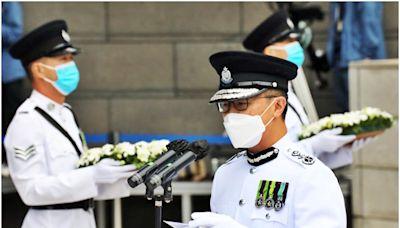 警隊紀念日|蕭澤頤:堅決遏止本土恐怖主義及危害國安活動