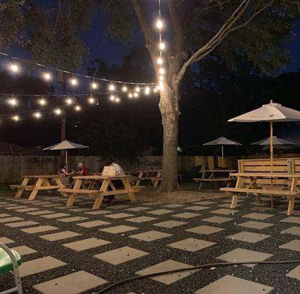 Neighborhood Beer Garden Opens in Spring Branch with Menu
