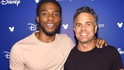 Marvel's Mark Ruffalo shares Chadwick Boseman tribute with behind-the-scenes video