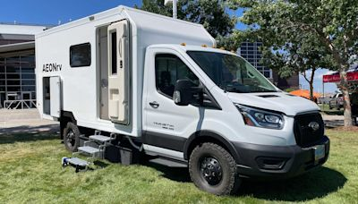 AEONrv 以強大的電力系統與儲存機能殺入小型露營車市場