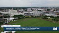 Washington football in Richmond for practice