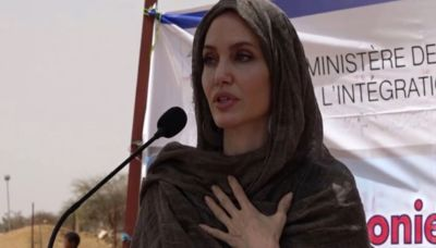 Angelina Jolie visits Burkina Faso as U.N. Special Envoy