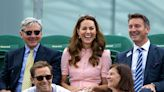 Kate Middleton & Her Dad Struggled to Contain Their Laughter at Wimbledon