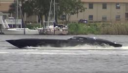 ZR48 Corvette Boat Outruns The Cops