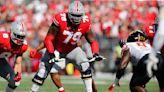 Ohio State football's Dawand Jones left Indiana a basketball-loving project, returns as an NFL prospect