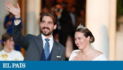 Fotos: La reina Sofía y la infanta Elena, entre los asistentes a la boda de Felipe de Grecia y Nina Flohr en Atenas