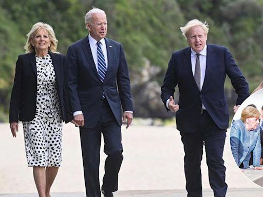G7峯會●拆局 重現團結平和氣氛僅表象 中俄威脅及疫情等棘手難題非親和立場可應對   蘋果日報