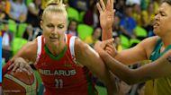 Former WNBA player discusses jail time after Belarus protest