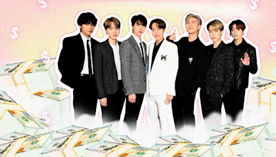 BTS's Net Worth Is Completely Out of This World