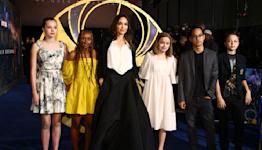 Angelina Jolie, Gemma Chan, Salma Hayek and More at the 'Eternals' U.K.Premiere