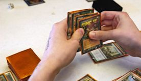 It's possible to build a Turing machine within Magic: The Gathering