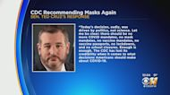 Texas Sen. Ted Cruz Slams CDC's Updated Mask Guidance For Fully-Vaccinated People, Calls It A 'Mandate'