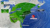 1st of 2 possible nor'easters poised to drench NYC to Boston