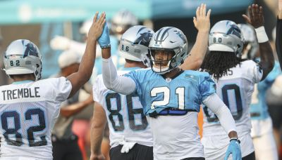 Panthers' Chinn eyes 'freedom' at safety after move from LB