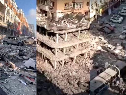 瀋陽一飯店燃氣爆炸 至少1死33傷【有片】