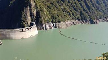 德基水庫再進帳174萬噸 蓄水率突破60%