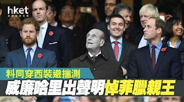 【英國王室】威廉哈里出聲明悼菲臘親王 料同穿西裝避揣測 - 香港經濟日報 - 即時新聞頻道 - 國際形勢 - 環球社會熱點