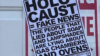 Anti-Semitic fliers in Massachusetts declare Holocaust 'fake news' - Jewish Telegraphic Agency