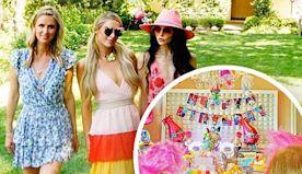 Paris Hilton enjoys her niece's epic Trolls-themed birthday party
