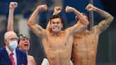 Olympics-Swimming-United States win men's 4 x 100 freestyle relay
