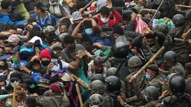 Migrant caravan: Guatemala blocks thousands bound for US