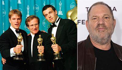 Harvey Weinstein boicoteó 'El indomable Will Hunting' para no pagar a Robin Williams