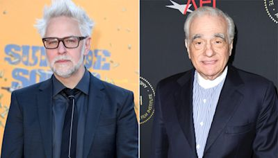 James Gunn says Martin Scorsese bashed Marvel movies to get press
