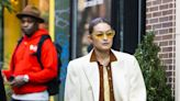 Gigi Hadid Offers a Whole New Take on Fall Colors