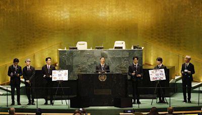 BTS再登聯合國演講 小粉紅崩潰怒轟:「辱華團」