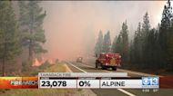 More Evacuations Ordered In Tamarack Fire