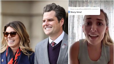 Matt Gaetz's future sister-in-law called him 'weird' and 'creepy' and said he pressured an older man to date her when she was 19