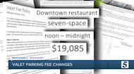 Hotels to pay more to get valet parking zones downtown
