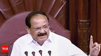 Priceless art & architecture lying buried due to neglect: VP Venkaiah Naidu | India News - Times of India