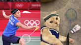 折耳貓Cosplay成「世界球后戴資穎」 萌力四射為奧運集氣!