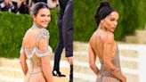 Kendall Jenner and Zoë Kravitz Put a Luxe Spin on Exposed Underwear at the Met Gala