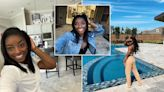 Inside Simone Biles' Houston home that's fit for an Olympian