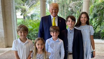 Donald and Melania Trump Join Family for Easter in Rare Post-White House Gathering